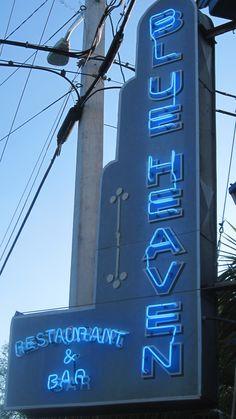 blue heaven restaurant in key west, florida.  love it here.  our favorite restaurant in key west.