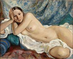 Portrait of the artist's daughter - Zinaida Serebriakova - WikiArt.org