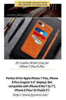 FYY Cover iPhone 8 Plus Cover iPhone 7 Plus Flip Custodia