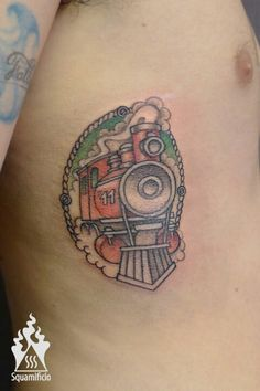 1000 ideas about train tattoo on pinterest tattoos for Crazy train tattoos