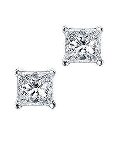 Princess Cut Square CZ Basket Set Sterling Silver Stud Earrings 6mm, http://www.amazon.com/dp/B004OQ0704/ref=cm_sw_r_pi_awdm_x_Sj0OxbK95JFTD