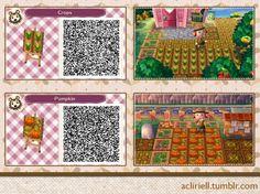ACNL/ACHHD QR CODE-Veggie Garden Tiles