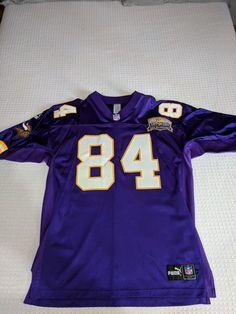 Randy Moss 2000 Minnesota Vikings Authentic Jersey - Used (eBay Link) Minnesota  Vikings 08c998156