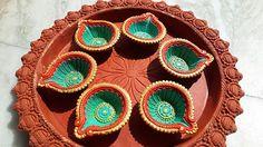 Rangini: Ornate Hand-painted Diyas this Diwali!