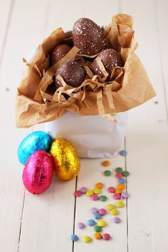 Merceditas Bakery: Huevos de pascua con sorpresa