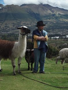 Otavalo, Ecuador I have the exact same picture of this boy and he looked mad just like that too lol