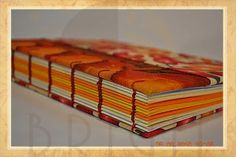 Handmade book / bookbinding - cookbook - Handbound book - Handbound Journal