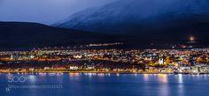 Akureyri Nights by RAF_PHOTOGRAPHY