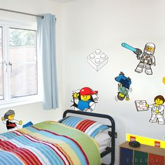 lego labels | LEGO Wall Stickers - buy at Firebox.com
