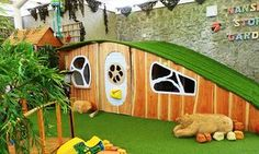 Nansloe school hobbit house
