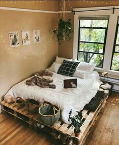 Beautiful cozy bedroom is designed and photographed by ., Beautiful cozy bedroom is designed and photographed by . Beautiful cozy bedroom is designed and photographed by. Bedroom Loft, Bedroom Inspo, Master Bedroom, Bedroom Retreat, Bedroom Inspiration Cozy, Modern Bedroom, Master Suite, Comfy Room Ideas, Earthy Bedroom