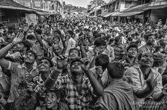 Reaching for Blessings #Gokarn #Shivaratri #travel #festival #people #blessings