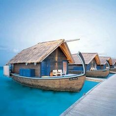 """@starkcarpet's photo: """"Dreaming of Cocoa Island's 23-room hotel, famous for their suites resembling local dhoni fishing boats via @ApartmentTherapy #Getaway #Maldives"""""""