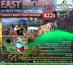 Satguru Indonesia - Travel Management Company, 6 : Hello travelers, mau liburan ke East Flores Island bersama kami mengunjungi beberapa lokasi wisata menarik seperti Kelimutu Three Colored Lakes yang indah dengan harga terjangkau dan kenyamanan bersama keluarga? 👉Hubungi kami dan pesan sekarang juga! *harga sewaktu-waktu bisa berubah. -------------------------- 💳Dapatkan diskon dan promo khusus lainnya di bulan ini. -------------------------- 🏠Hubungi kami atau kunjungi: 📍Kuningan City…