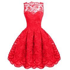 Sans manches en dentelle Mesh plissee style patineuse Tunique Midi femmes soiree formelle robe de bal: Amazon.fr: Vêtements et accessoires