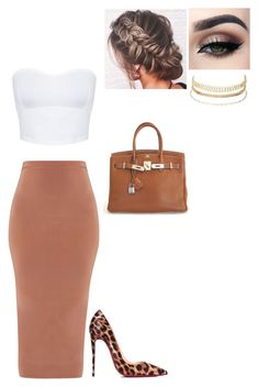 Untitled #170 by fionacoyne100 on Polyvore featuring polyvore, fashion, style, Miss Selfridge, Christian Louboutin, Hermès, Charlotte Russe, Tiger Mist and clothing