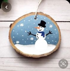 Snowman Ornament, Christmas gifts for children, for teacher, stocking stuffers, … – Welcome My World Wooden Christmas Ornaments, Painted Ornaments, Handmade Christmas Gifts, Snowman Ornaments, Christmas Wood, Christmas Gifts For Kids, Kids Ornament, Snowflake Ornaments, Christmas Centerpieces