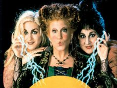 ABC Family - 13 Nights Of Halloween - Hocus  Pocus  Best Halloween Movie! Right next to The Nightmare Before Christmas!