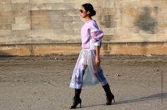 Thestreetfashion5xpro: In the Street...You Look Pinkalicious! The Pink does not Stop #4