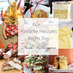 Food Bloggers Favorite Recipes Roundup - A Collection of awesome recipes from TOP food bloggers! | foodfaithfitness.com | #recipe #roundup