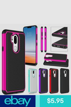 LG G7 ThinQ LG G7 Case Cover Screen Protector Ring Stand