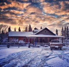 This is exactly what my house is going to be. I love the inside too. This is the home from Heartland, by the way. :)