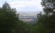 Santa Magdalena de Pulpis (Castellón), vista desde el castillo de Pulpis