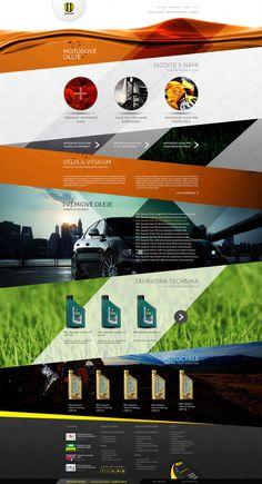 WEB DESIGN CREATIVE CONCEPT by Provoco , via Behance