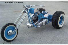 Custom Motorcycle Trike by Santiago Chopper | Custom Harley Gallery | AR Harley & Sons Ltd | USA