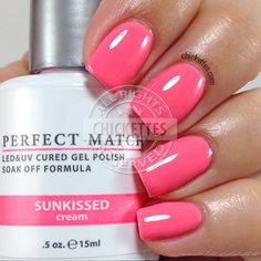 LeChat Perfect Match - Sunkissed - swatch by Chickettes.com