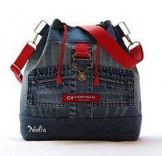 Clothes diy ideas fashion old jeans 46 Ideas for 2019 Denim Backpack, Denim Bag, Diy Jeans, Diy Bag Designs, Mochila Jeans, Denim Handbags, Craft Bags, Linen Bag, Recycled Denim