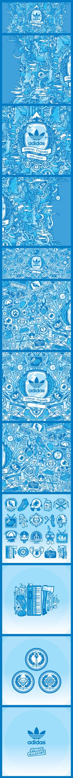 quality design d1853 8d068 JthreeConcepts x  Adidas Originals (DH Editions) Artwork Design, Graphic  Design Posters,