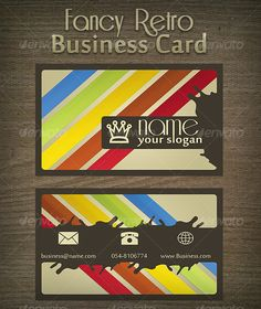 Fancy Retro Business Card #GraphicRiver Retro Business Card with STYLE ! CMYK – 8bit , 1125×675 – Layered PSD Great business card that fits for everything, with a retro touch in it. The File Contains: Layered PSD Front.jpg & Back.jpg Help File Preview.jpg Fonts Used: Riesling Sakkal Majalla Created: 10September10 GraphicsFilesIncluded: JPGImage #PhotoshopPSD Layered: Yes MinimumAdobeCSVersion: CS PrintDimensions: 1125x675 Tags: businessman #corporate #elegantbusiness #fancy #graphicdesigner…