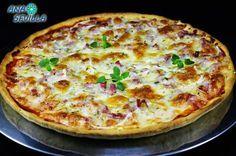 Pizza expres sin reposo Ana Sevilla con Thermomix