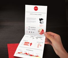 Most Creative Resume Designs of All Times | nice fold.  Interesting size