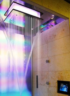 Bradford Products' Experience Shower, which was featured in our Wellness Suite at the 2012 HI Connect Design event in Nashville.