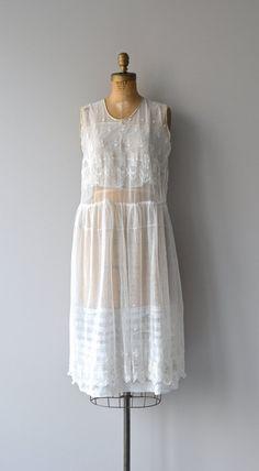 Comme L'Air Kleid 1920er Jahren bestickte Kleid von DearGolden