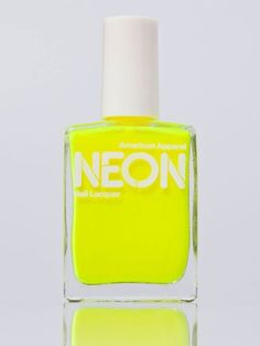 bright nails are a must when you are young