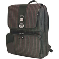 ed1770011a Looking for a good laptop backpack for travel. Mobile Edge TPS Backpack in  Pink and Grey tweed stripes.