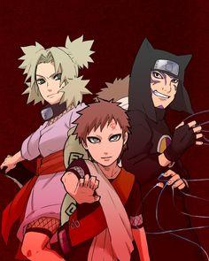 """Awww...cuuuuute! Gaara's just like """"No sibling love for me ... Gaara And Kankuro Brothers"""