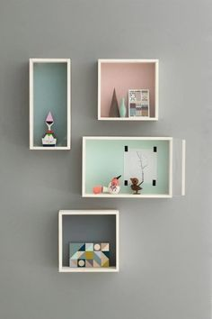 Couldn't help but love the colours, patterns and styling of danish lifestyle brand ferm LIVING's spring collection The essence of pastel colours meets nordic style. ferm LIVING or… Decor Room, Bedroom Decor, Home Decor, Bedroom Ideas, Room Decorations, Deco Design, Design Shop, Display Boxes, Storage Boxes