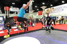 Kangoo Jumps at IHRSA 2012. Are you going to miss it next year?