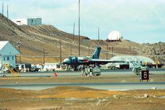Black Buck Mission Avro Vulcan at Wideawake Airfield, Ascension Island, Military Jets, Military Aircraft, Ascension Island, Air Force Bomber, V Force, Avro Vulcan, British Overseas Territories, Falklands War, Navy Aircraft