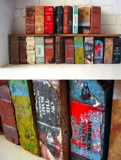 Brick 'books' - light reading