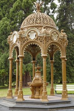Queen's Jubilee Drinking Fountain (1887/1897), City Park, Launceston, Northern Tasmania, Australia Beautiful Places To Visit, Great Places, All Over The World, Around The Worlds, Fountain City, Austria, Gold Coast Australia, Drinking Fountain, Rock Pools