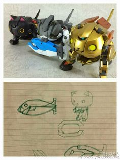 Custom Build: 1/144 Nyaia Gundam Leone - Gundam Kits Collection News and Reviews