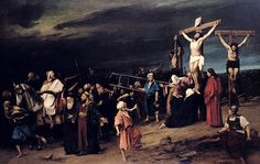 Golgota (1884) Mihály von Munkácsy