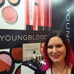 We love meeting our favorite #beautybloggers like @phyrra  If you're at @themakeupshow come by booth E6 and say hi! We're offering 50% off everything for #tmsnyc attendees! #TMS #tmsny #ybcosmetics #newyorkcity #tmsnyc