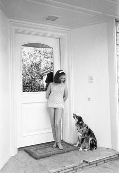 Natalie Wood and friend