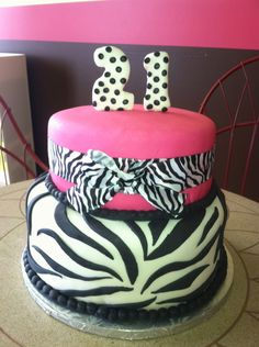 this isn't too much to ask, a simple zebra cake :P